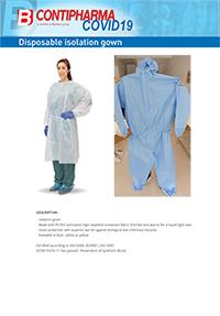 gown technical sheet
